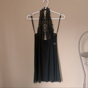 Frederick's of Hollywood Halter Nightgown Slip